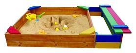 Песочница деревянная SportBaby SB-pesoch-6