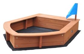 Песочница деревянная SportBaby Лодочка (SB-pesoch-14)