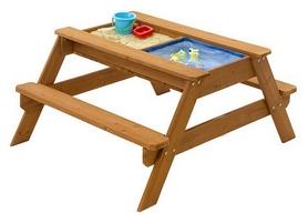 Песочница-стол деревянная SportBaby SB-pesoch-2