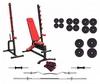 Набор силовой Marbo Sport MS8 со штангой, 158 кг (MS8-157)