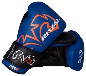 Перчатки боксерские Rival Evolution Sparring Gloves, синие (FP-RSV11V)