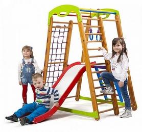 Уголок детский спортивный SportBaby Кроха - 2 Plus 2, 150 см (SB-010)