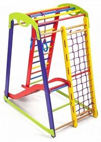 Уголок детский спортивный SportBaby Кроха - 1 Plus 1, 150 см (SB-017)