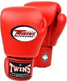 Перчатки боксерские Twins Special Muay Thai Boxing Gloves, красные (FP-BGVL3-RD)