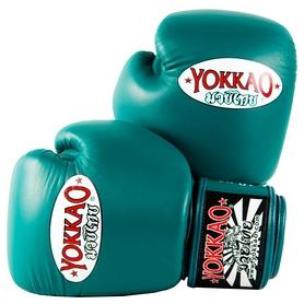 Перчатки боксерские Yokkao Matrix Petroleum Boxing Gloves, зеленые (FP-BYGL-X-7)