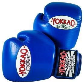 Перчатки боксерские Yokkao Matrix Blue Boxing Gloves, синие (FP-BYGL-X-3)