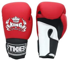 Перчатки боксерские Top King Boxing Gloves Air, красные (FP-TKBGSA-RD)