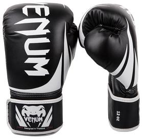 Перчатки боксерские Venum Challenger 2.0 Boxing Gloves, черно-белые (FP-2049-BK)