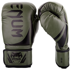 Перчатки боксерские Venum Challenger 2.0 Boxing Gloves, зеленые (FP-2049-GN)
