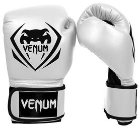 Перчатки боксерские Venum Contender Boxing Gloves, белые (FP-2053-WH)