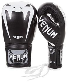 Перчатки боксерские Venum Giant 3.0 Boxing Gloves, черно-белые (FP-2055-WH)