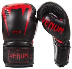 Перчатки боксерские Venum Giant 3.0 Boxing Gloves, черно-красные (FP-2055-RD)