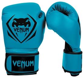 Перчатки боксерские Venum Contender Boxing Gloves, голубые (FP-2053-BL)