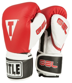 Перчатки боксерские Title Gel Intense Training/Sparring Gloves, красные (FP-GIBSG-RD)