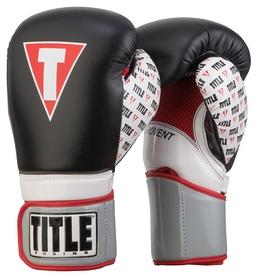 Перчатки боксерские Title Infused Foam Revenge Training Gloves, черные (FP-TIFGPT-BK)