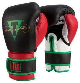 Перчатки боксерские Title Oscar Signature Bag Gloves, черно-красные (FP-OSCBG)