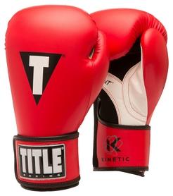 Перчатки боксерские Title Kinetic Aerovent Boxing Glove, красные (FP-XTKBG-RD)