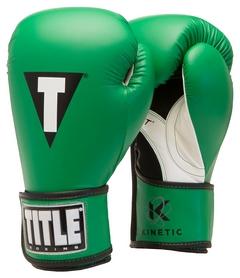 Перчатки боксерские Title Kinetic Aerovent Boxing Glove, зеленые (FP-XTKBG-GN)