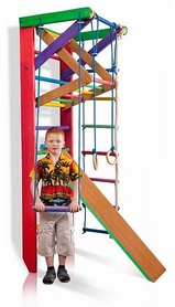 Уголок спортивный детский SportBaby Барби 3-220 см (SB-049)