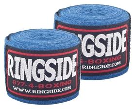 Бинты боксерские Ringside Junior Standard Cotton Boxing HandWraps FP-JRHW - синие, 3 м (2962760006464)