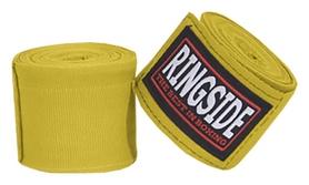 Бинты боксерские Ringside Mexican-Style Boxing HandWraps FP-MHW - желтые, 4,5 м (2976890033184)