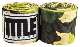 Бинты Title Elastic Mexican HandWrap Green CamoFP-SMHW XL - зеленые, 4,5 м (2976890009493)