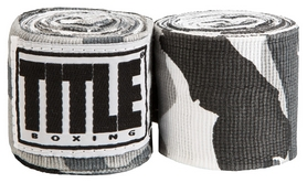 Бинты Title Elastic Mexican HandWrap Arctic Camo FP-SMHW XL-F - серые, 4,5 м (2976890009493)