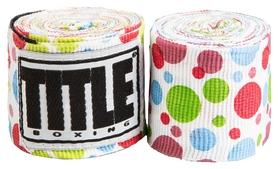 Бинты Title Elastic Mexican HandWrap Polka Dots FP-SMHW XL-F - разноцветные, 4,5 м (2962760002398)
