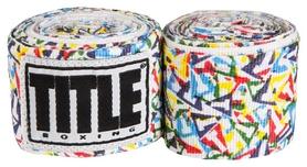 Бинты Title Elastic Mexican HandWrap Scrambled T's Str FP-SMHW XL-F - разноцветные, 4,5 м (2962760002411)
