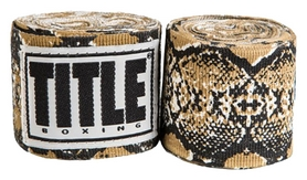 Бинты Title Elastic Mexican HandWrap Snakesin FP-SMHW XL-F - коричневые 4,5 м (2962760002428)