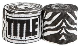 Бинты Title Elastic Mexican HandWrap Zebra FP-SMHW XL-F - белые, 4,5 м (2962760002435)