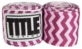Бинты Title Elastic Mexican HandWrap Zig-Zag FP-SMHW XL-F - розовые, 4,5 м (2962760002442)