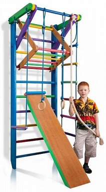 Уголок спортивный детский SportBaby Радуга 3-220 см (SB-040-a)
