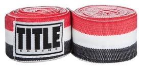 Бинты Title Semi-Elastic 180 Mexican HandWraps FP-SMHW XL - черные, 4,5 м (2976890027114)