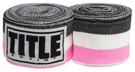 Бинты Title Semi-Elastic 180 Mexican HandWraps FP-SMHW XL - розовые, 4,5 м (2976890027121)