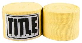 Бинты боксерские Title Mexican Style HandWraps FP-MHW - желтые, 4 м (2962760003739)