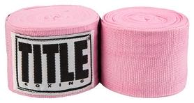 Бинты боксерские Title Mexican Style HandWraps FP-MHW - розовые, 4 м (2976890016453)