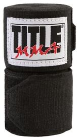 Бинты боксерские Title MMA Semi-Elastic HandWraps FP-TMMAW - черные, 3 м (2962760003715)