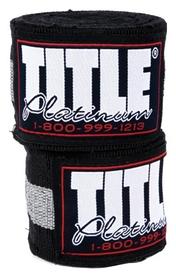 Бинты боксерские Title Platinum Hand Wraps FP-PHW-F 165 - черные, 4,2 м (2976890029507)