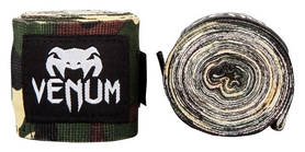 Бинты Venum Kontact Boxing HandWraps FP-0430 - зеленый, 2,5 м (2976890008953)