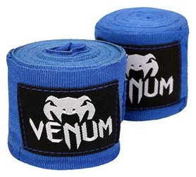 Бинты Venum Kontact Boxing HandWraps FP-0429 - синие, 4 м (2962760005948)
