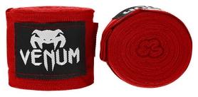 Бинты Venum Kontact Boxing HandWraps FP-0429 - красные, 4 м (2976890033726)