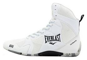 Боксерки Everlast Ultimate Boxing Shoes, белые (FP-ELM-94B)