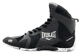 Боксерки Everlast Ultinate Boxing Shoes, черные (FP-EELM-94I)