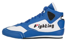 Боксерки Fighting Sports Aggressor Mid Boxing Shoes, белые (FP-FSABS1)