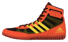Боксерки Adidas Ring Wizard 3 Boxing Shoes, оранжевые (FP-AXBS5-OR)