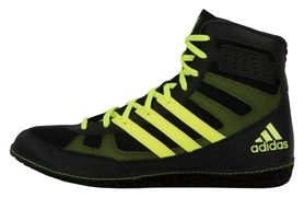 Боксерки Adidas Ring Wizard 3 Boxing Shoes, черные (FP-AXBS5-BK)