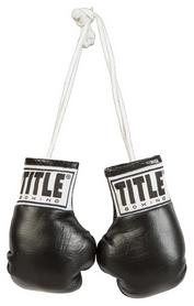 Брелок Title Boxing 5 Mini Boxing Gloves FP-MBG2, черный (2976890016231)