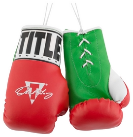 Брелок Title Oscar De La Hoya 5 Mini Boxing Gloves FP-ODMBG5, красный (2976890027169)