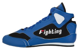 Боксерки Fighting Sports Aggressor Mid Boxing Shoes, черные (FP-FSABS1-BK)